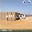 JOESCO welded gabion defence barrier for outside shooting range